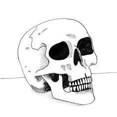 Inktober, Skull, Dark, Artwork, Fictional Characters, Instagram, Design, Work Of Art, Auguste Rodin Artwork