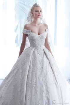Nicolas Jebran Wedding Dress Spring 2015Couture Collection