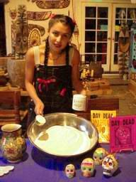 Make your own sugar skulls!  These little guys can be so pricey, thanks for sharing the recipe.