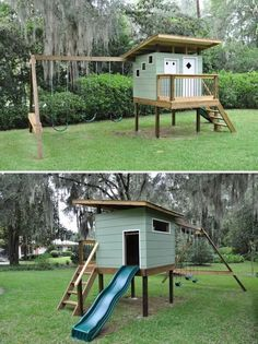 Mid century playhouse