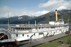 World's Oldest Intact Passenger Sternwheeler - S. Moyie - News - Bubblews Steam Boats, Paddle Boat, Wooden Boats, Boat Building, British Columbia, Sailing, Coast, Canada, River