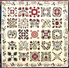 Mary Mannakee Reproduction Quilt by Nancy Kerns