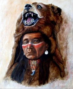 Chief Running Bear,by Amanda Stewart