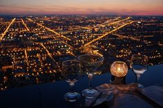 city lights . cocktails . candle. MY DREAMS DATE!