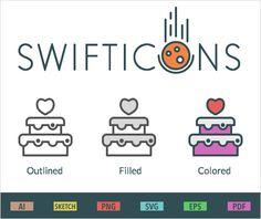 Freebie : Swifticons Icons Set