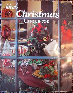 70s Ideal Christmas Cookbook by lishyloo on Etsy, $6.00