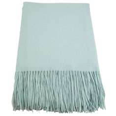 CASHMERE REPUBLIC Signature Waterwave Cashmere/Wool Throw Blanket Sea Foam $125***BEST PRICE GUARANTEE*** FREE WORLD SHIPPING ORDER PICK UP IS ALSO AVAILABLE