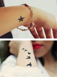 Tatuajes para mujeres en las muñecas imagen