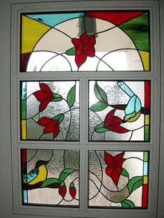 A stained glass art work by the talented Sara Milman, Israel