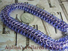 Special Dragonback BDSM Slave Collar Choker by aislinnscollared