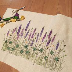 #프랑스자수 #자수 #꽃자수 #embroidery