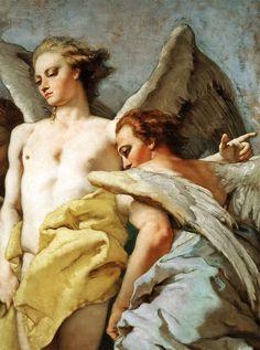 Giovanni Battista Tiepolo Abraham and the Three Angels ✿⊱╮