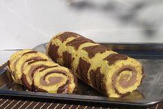 Reteta culinara Rulada cu crema de ciocolata din categoria Prajituri. Cum sa faci Rulada cu crema de ciocolata