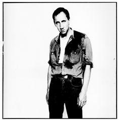 Pete Townshend by David Bailey Chrissie Shrimpton, Jean Shrimpton, David Bailey Photographer, John Cole, Rupert Everett, Jean Muir, Ossie Clark, Pete Townshend, Roxy Music