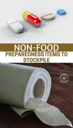 Non-Food Preparedness Items To Stockpile #prepping #prep #prepper #preppingsupplies #preparednesssupplies