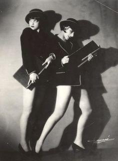 the sisters G by studio Manasse , paris 1920's