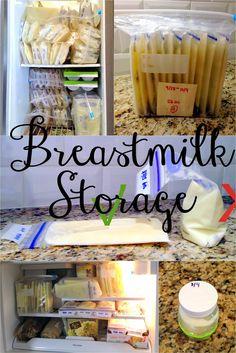 Baby 101: Breastmilk Storage