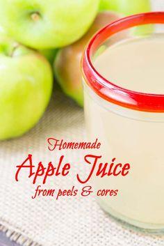 Easy No Waste Fresh Apple Juice | Inspiration Kitchen