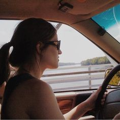 #tbt many summers ago when I still had the Shadow. It was my car 10 years that I grew to love. When the engine finally went it had over 190000 miles on it. In this photo @juliebthompson9 and I were crossing the NJ/PA border at Washington's Crossing. Anyone who says there's no pretty places in NJ is silly.  @juliebthompson9