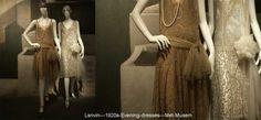 Jeanne Lanvin  - Evening dresses - circa 1925 Met-Musem