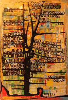 Tree (Oil) - 2012 - Arek Jackowski - http://www.jackowskidesign.com/paintings/