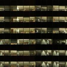 Highrisenight0025 Glass Curtain Wall Building Facade Texture