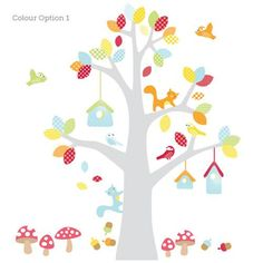 Shop online for Tree Wall Decals in Australia. Beautiful range of modern designs for the trendy nursery or kids room. Custom colours to match your decor. Nursery Wall Murals, Nursery Wall Stickers, Kids Room Wall Art, Removable Wall Stickers, Tree Wall Art, Wall Decals, Nursery Décor, Tree Tops, Home Wall Decor