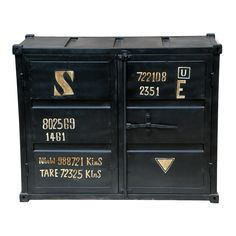 Black 2-door Container Buffet - Overstock™ Shopping - Big Discounts on Buffets