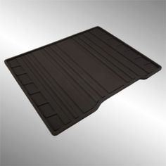 Rear One-Piece All-Weather Floor Mat in Black