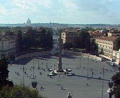 HISTORIA Y TURISMO EN ROMA: La Piazza del Popolo