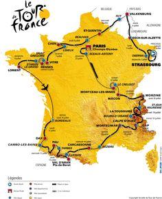 Tour de France 2008 we free camped in the Alp d'Huez for 3 days