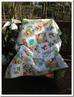 FREE pattern: Four Squared (from Moda Bake Shop)