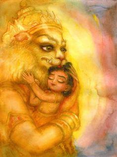 Lord Narsimha Devji My Babaji Blessed Shree Krishna Wallpapers, Lord Hanuman Wallpapers, Krishna Statue, Radha Krishna Love, Hare Krishna, Lord Ganesha Paintings, Krishna Painting, Shiva Meditation, Ancient Indian Art