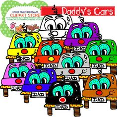 64 Cliparts for Fathers Day Pack for Personal and Commercial Use