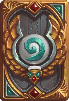 Card Back: League of Explorers Artist: Blizzard Entertainment