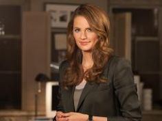 Castle's Det. Kate Beckett, co-founder of the Alternative Travel Project, is trying to get us to give up our cars one day a week to help the planet.  Way to go, Kate!