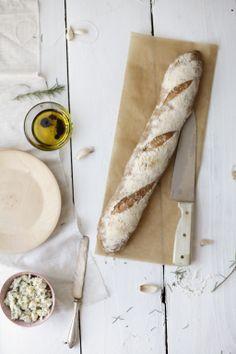 Knoflook - rozemarijn brood #libelle en @Susan Caron de Bruijn