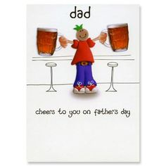 Father's Day Card - Cost of card: £1.89  Amount to charity: 20p    http://birthdaycards.charitygreetings.com/personalised-charity-greetings-cards-fathers-day-cards-uk/fathers-day-cards/12834-fathers-day-card