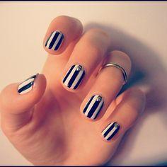 Stripes & studs.