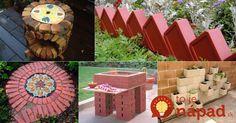 Máte doma nevyužité tehly, alebo iný stavebný materiál? Títo ľudia vám predvedú, ako úžasne využijete tieto veci v záhrade!