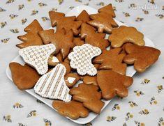Chutné medovníčky - recept   Varecha.sk Gingerbread Cookies, Desserts, Food, Basket, Postres, Eten, Meals, Food Deserts, Plated Desserts