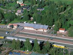 Peipohjan rautatieasema ympäristöineen Kokemäellä. Tärkeä risteysasema. Finland, Dolores Park, Travel, Viajes, Destinations, Traveling, Trips
