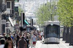 VLT (Veículo leve sobre trilhos) - Tramways - Marseille