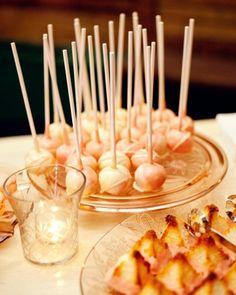 Cheesecake lollipops!