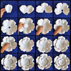 Large Flowers-Giant Paper Flower-Big Flowers-Wedding Decoration-Stand with Flowers-Giant Flowers wiht Stem-Standing Flowers-Stemmed Flowers template flower PDF by Hardcopy Paper Flower Templates / DIY paper flowers / Price is for ONE style Rose Petal Large Paper Flowers, Paper Flower Wall, Paper Flower Backdrop, Giant Paper Flowers, Paper Roses, Diy Flowers, Flower Diy, Flowers Decoration, Wedding Decoration