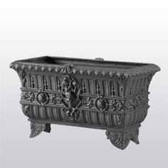 Cast Iron, It Cast, Small Urns, Rectangular Planters, Outdoor Planters, Collection, Home Decor, Decoration Home, Room Decor