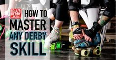 The four simple questions I ask skaters, to help them master any roller derby skill on the spot. Try the CHEW method, see how quickly it changes your game.