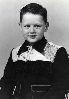 William Jefferson Blythe, age five, 1952