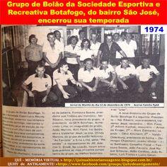 IJUÍ - RS - Memória Virtual: Antigo Grupo de Bolão da Sociedade Esportiva e Rec...