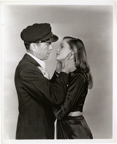 Portrait of Humphrey Bogart and Lauren Bacall for To Have and Have Not, 1944. Photo by Bert Longworth